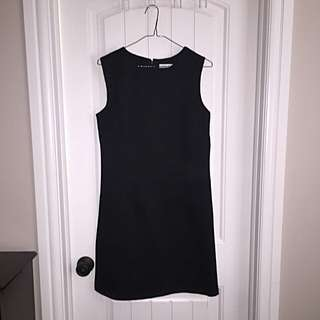 New Alfred Sung Sz 8 Black Cocktail Dress