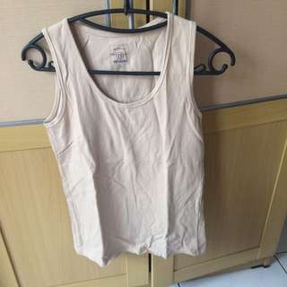Nude / Cream Tank Top Nevada