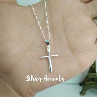 925 Silver Necklace MS2373