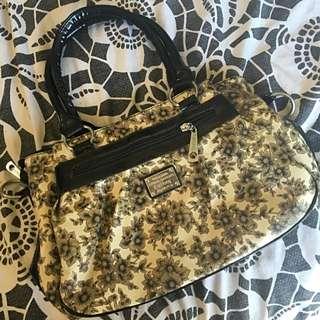 Leather FUHONG Handbag NEVER USED.