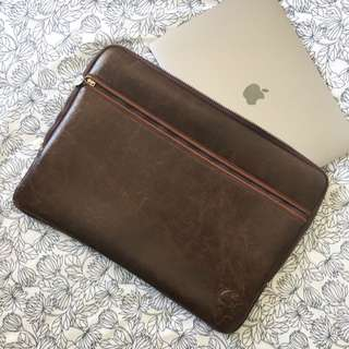 "15"" Laptop Case Faux Leather"