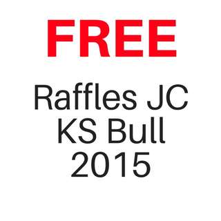 FREE Raffles JC RJC KS Bull GP Model Essays For Download | No purchase required |