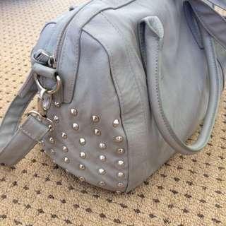 PRICE REDUCED Studded grey Bag
