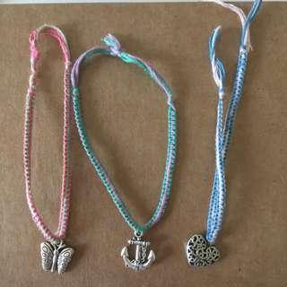 Handmade Charmed Bracelets