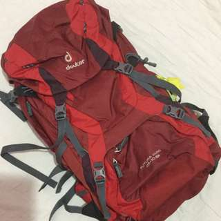 RUSH! NEGOTIABLE! Deuter Futura Vario 45+10