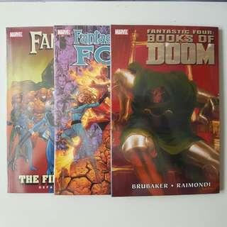 Marvel Fantastic Four TPBs