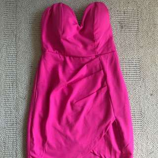 SABO SKIRT pink Body Con Dress
