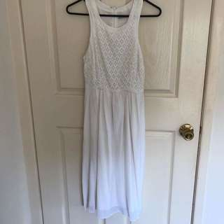 Kookai White Lace Dress