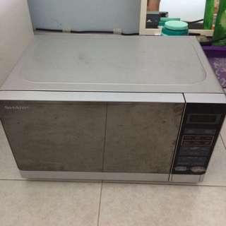 Sharp Microwave Oven FREE ANGRY MAMA