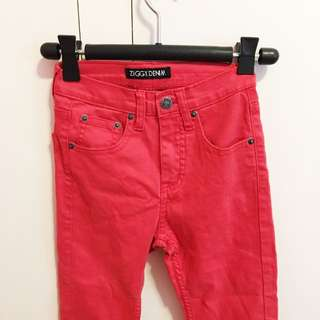 Ziggy Jeans In Red