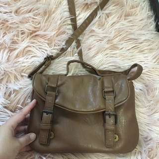 Small Brown Leather Bag