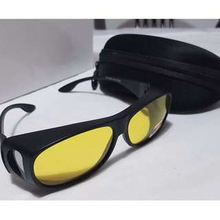 7839afa551 VERY POPULAR ~ BUY NOW ~ Yellow Night Vision Polarized Sunglasses Glasses