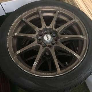 Car Tyre A Set Of 4