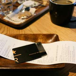 Starbucks Reserve Card