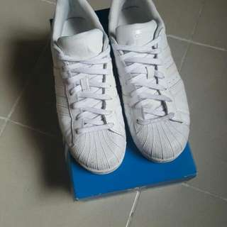 Adidas Superstar Full White