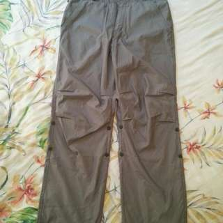 GAP Pants with Floral Embroidery Detail (Size S)