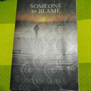 Someone To Blame By C.S. Lakin