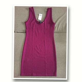 Forever 21 Magenta Mini Dress