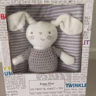 Baby Blanket and Toy