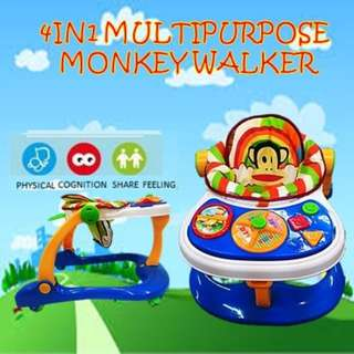 NEW 4 in 1 MONKEY WALKER