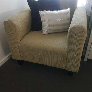 Nero Arm Chair - Light Green