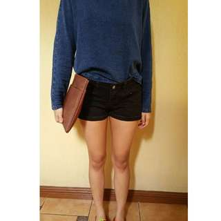 FOREVER21 Semi-ripped Shorts