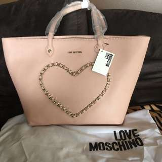 Authentic Love Moschino Tote ( Reduced to $150)