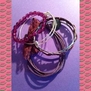 Purple Bracelet Bundle