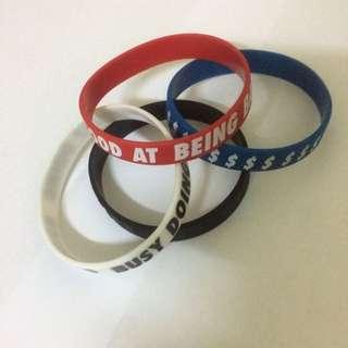 H&M Original Men Rubber Bracelet