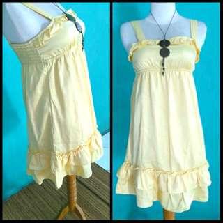 YUKO Yellow Dress