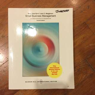 Small Business Management (7th Edition)