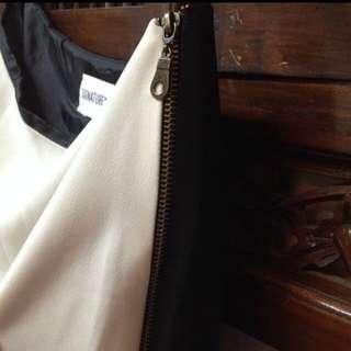 Side Zipper Skirt - merk signature