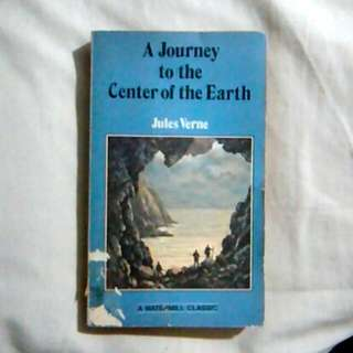 A Journey to the Center of the Earth Novel