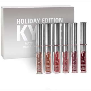 Ready! Mini Lip Kit Kylie Holiday Edition