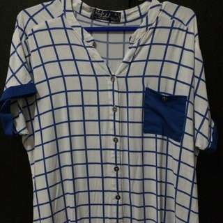 Red Label Blouse Stripes