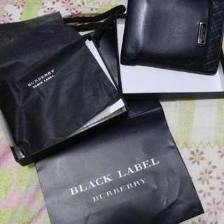 Burberry Black Label 銀包