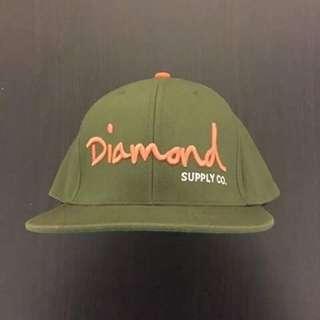 Diamond Supply Co. Olive Green Snapback