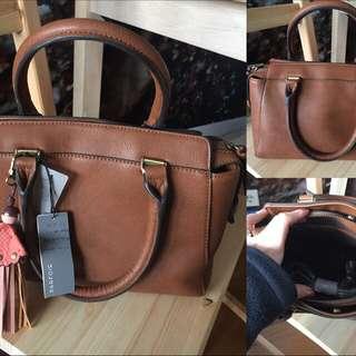 """Parfois """"Mini Brown Leather"""""""