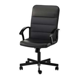 RENBERGET Swivel chair, Bomstad black, ikea