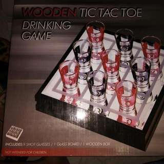 Brand New Tic Tac Toe Drinking Game
