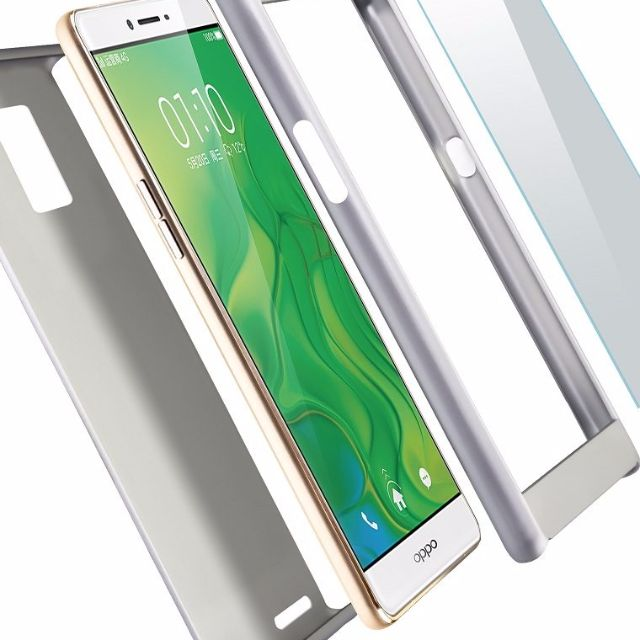 low priced 41489 dd2cc 360 Protection Tempered Glass Case Cover OPPO R7 R7S & R7 PLUS HOME / SHOP  / CASE