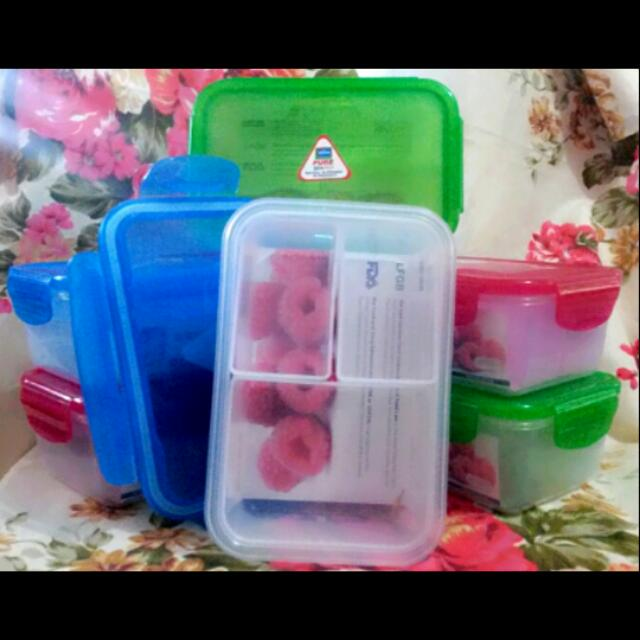 800ml/27oz PURE-BPA Free & Leak Proof Lunch Boxes with Food Separators