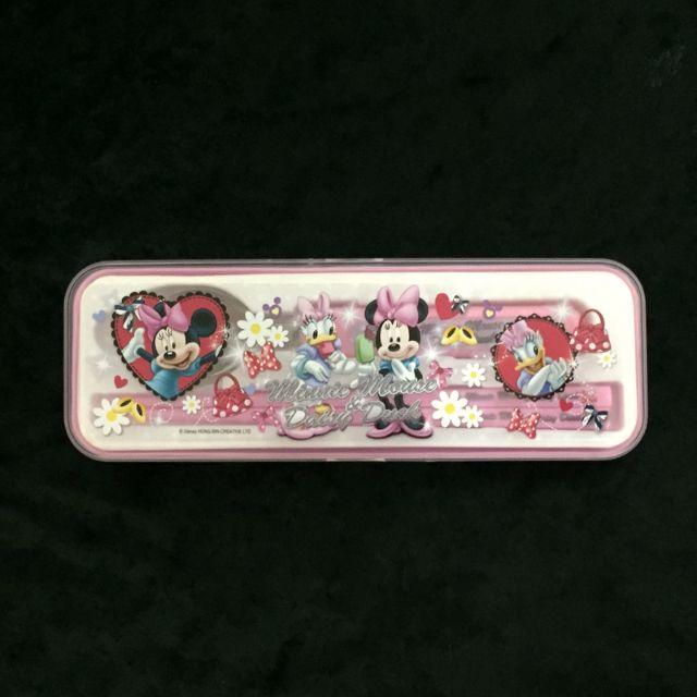 迪士尼米妮二件式筷匙組