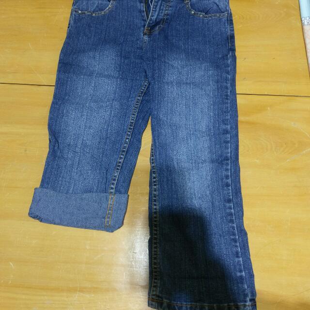 七分褲牛仔褲