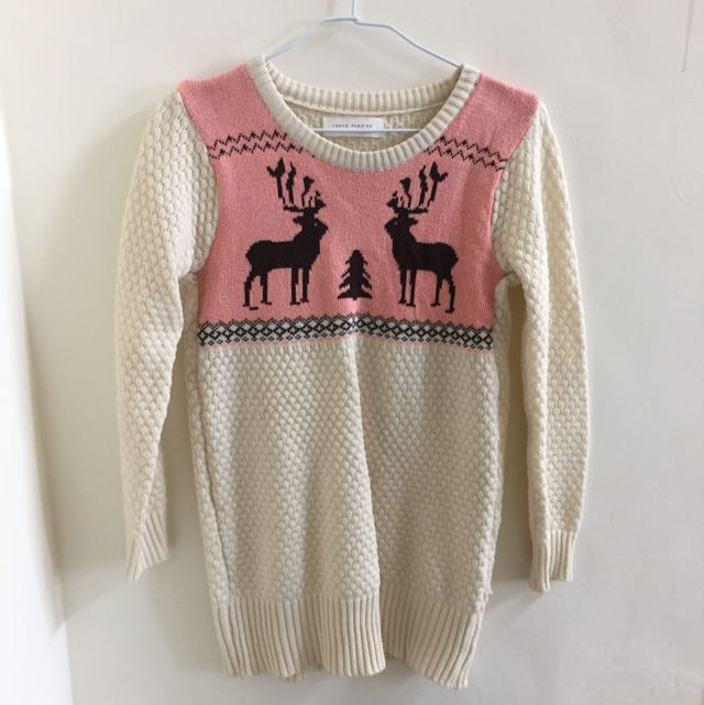 粉嫩色系毛衣