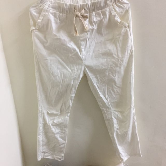 白色老爺褲