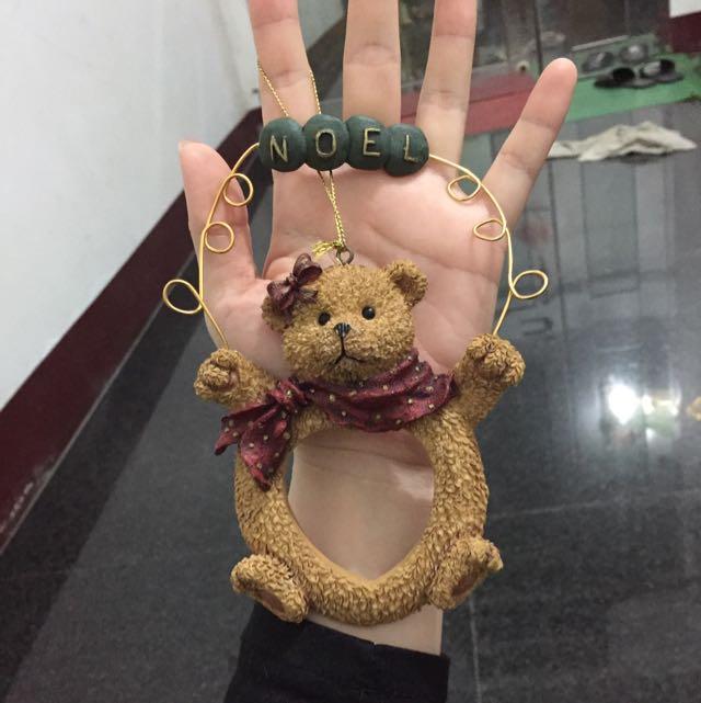 可愛小熊掛飾