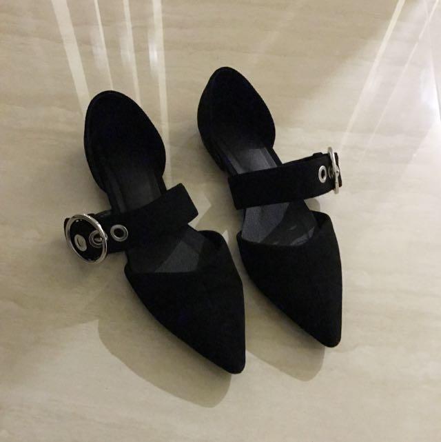 設計款 氣墊 包鞋