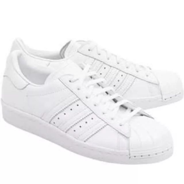 Adidas Originals Superstar 80s Steel Cap Sneaker Size 38 7