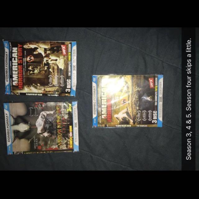 American Horror Story S3,4&5